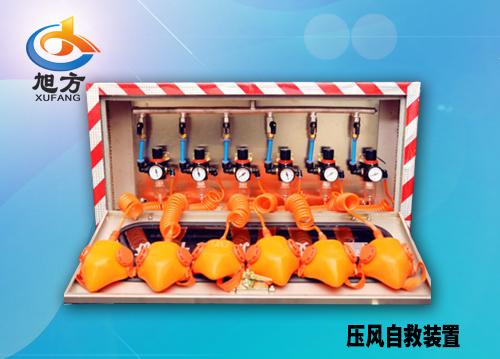 ZYJ型箱式矿井压风自救装置(硅胶面罩)